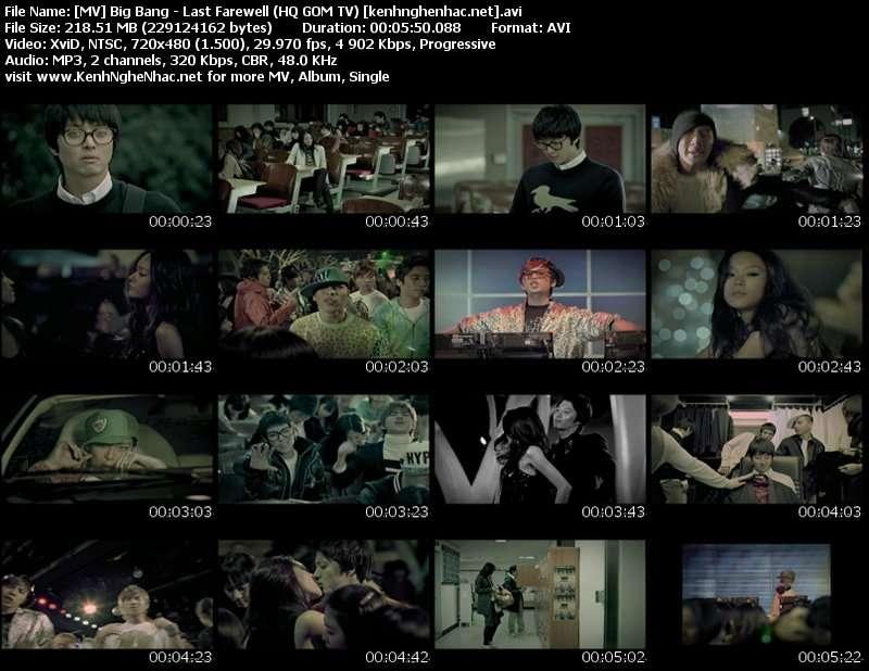 Big Bang Last Farewell Mp4 Download