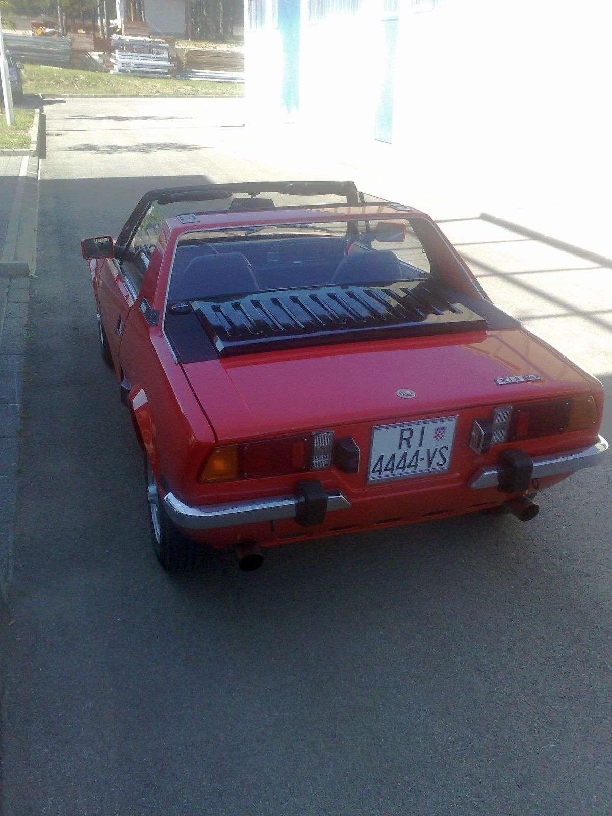 Fiat X1/9 je bio radikalan