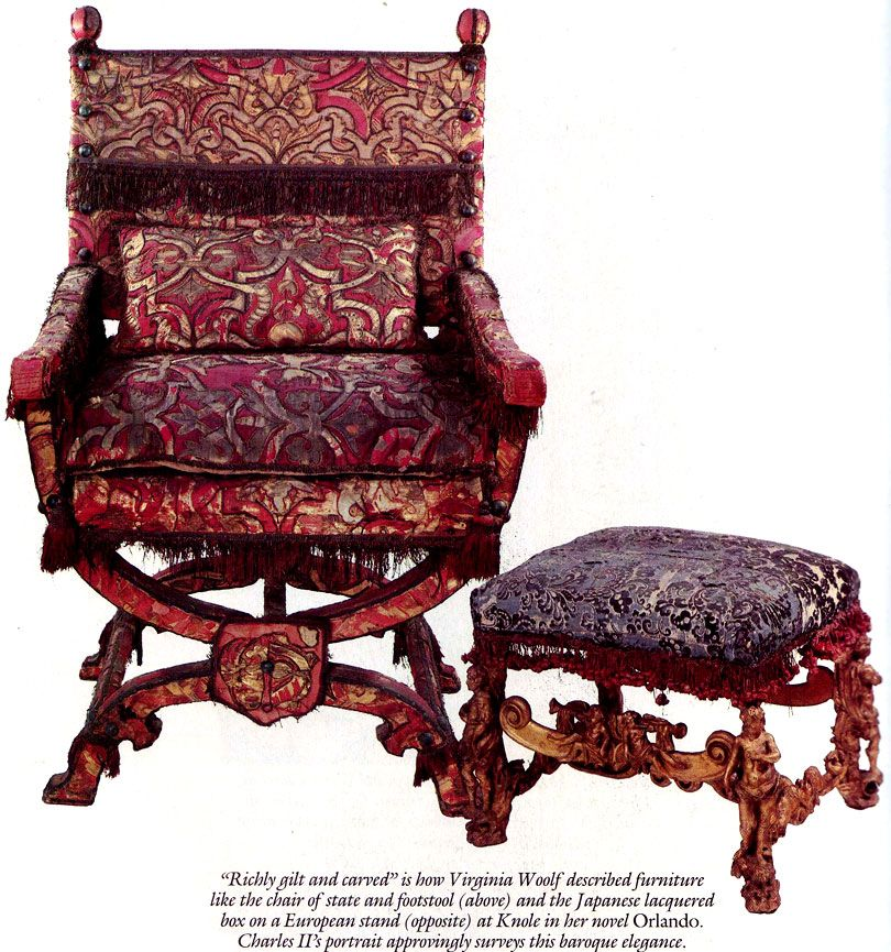 In Decorous Taste Ancestral Chair