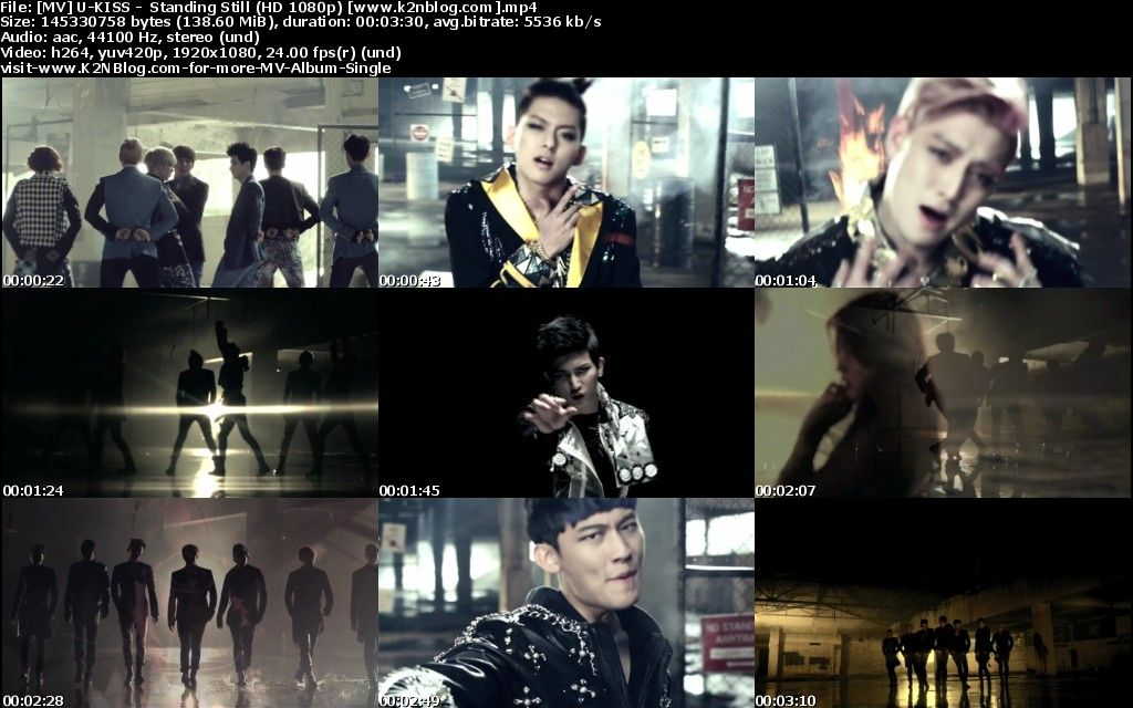 [MV] U KISS   Standing Still (HD 1080p Youtube)
