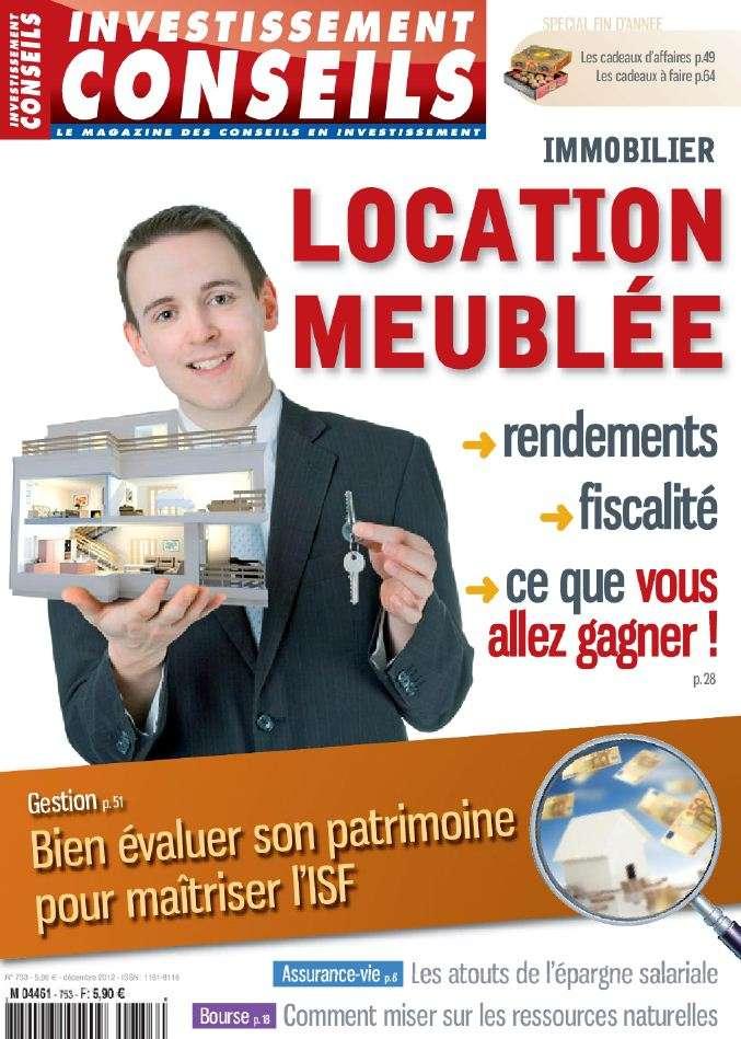 Investissement Conseils N°753 Décembre 2012