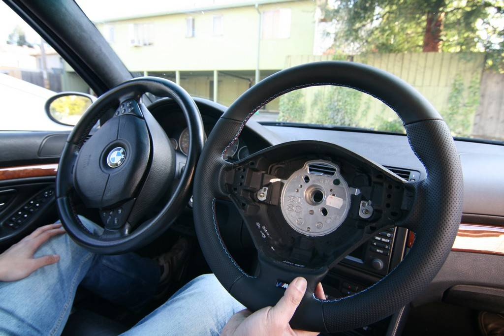 Steering Wheel Swap E39 Bimmerfest Bmw Forums