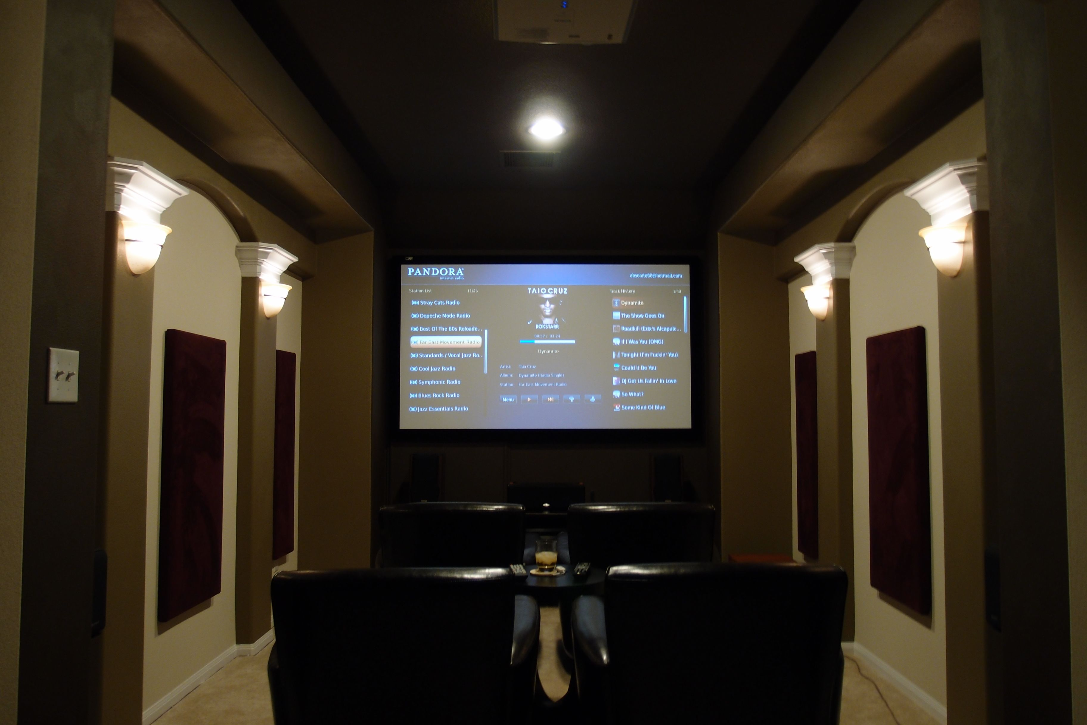 Home Theater Room Size Calculator