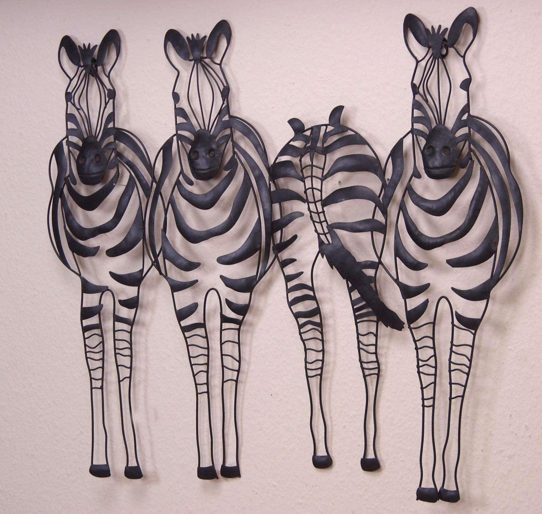 wanddeko zebra bestseller shop mit top marken. Black Bedroom Furniture Sets. Home Design Ideas