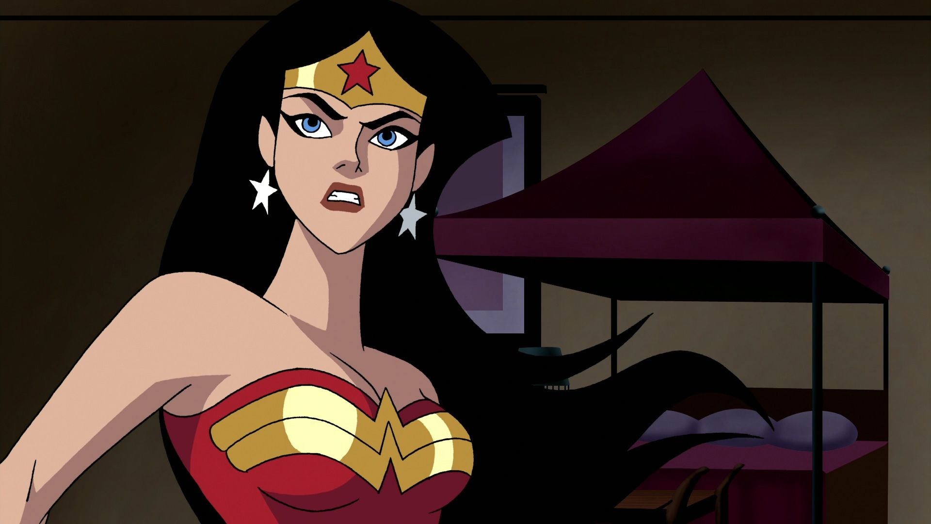 Wonder Woman Beaten Justice League Sleepy Comics -...