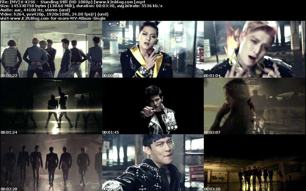 [MV] U-KISS - Standing Still (HD 1080p Youtube)